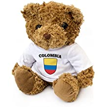 NUEVO - BANDERA COLOMBIANO - Osito De Peluche - Adorable Lindo - Regalo Obsequio Colombia