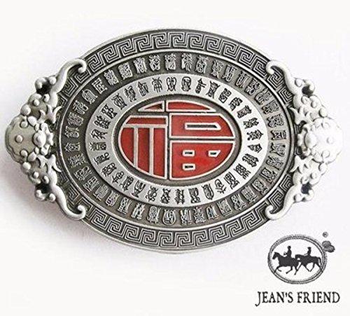 napolo Western Buckle Belt Cowboy gurtelschnallen New Silber rot Aztec