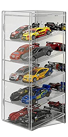 SORA 1/32 Slot-Car Tower with mirrored back-panel