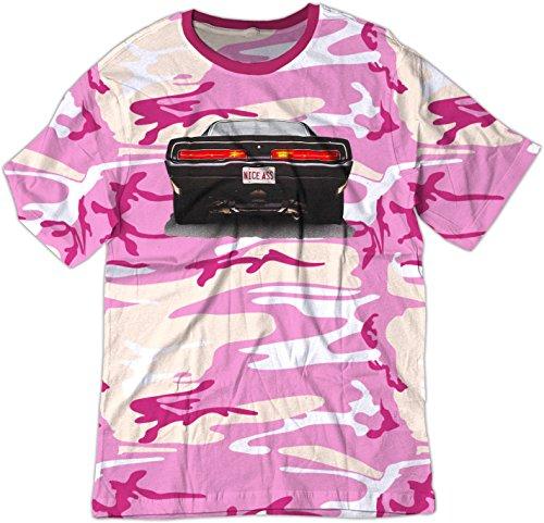Pink Camo T-shirt (BSW  Herren T-Shirt Gr. X-Small, Pink Camo)