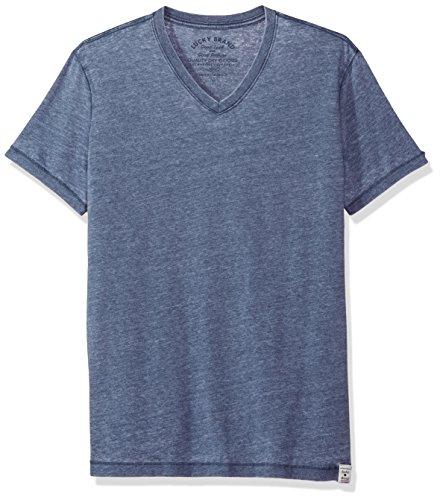 lucky-brand-burnout-camisetas-s-hombres