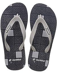 Lotto Men's Navy/Grey Hawaii House Slippers