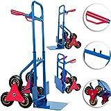 DEUBA® Treppenkarre klappbar bis 200kg Hartgummireifen Haltegriffe Sackkarre Transportkarre Stapelkarre Wagen