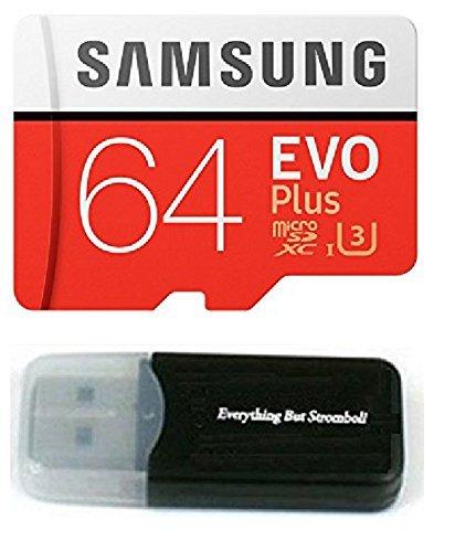 64GB Samsung Evo Plus Micro SD XC Class 10UHS-164G Speicherkarte für Samsung Galaxy S8, S8+, S7Edge, S5Active, S4, S3, S Tab Handy mit Alles aber Stromboli Kartenleser (mb-mc64da/AM) (Samsung Galaxy S5, Tab S)