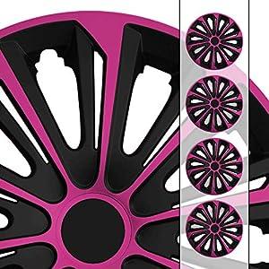 universal 16 Zoll Radkappen Radzierblenden AGAT Gr/ün passend f/ür fast alle Fahrzeugtypen Gr/ö/ße w/ählbar