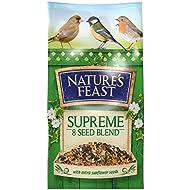 Nature's Feast Supreme 8 Seed Blend Wild Bird Food, 5 kg
