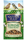 Nature's Feast Supreme 8 Seed Blend Wild Bird Food, 5 kg
