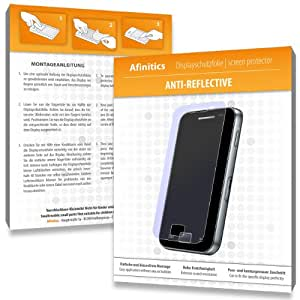 2 x Afinitics Anti-Reflective Screen Protector for Nikon D2Xs / D2-Xs - PREMIUM QUALITY (non-reflecting, hard-coated, bubble free application)