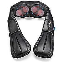 Preisvergleich für Invitalis Vitalymed Flexi - Massagegerät für Nacken, Schultern, Rücken, Füße und Beine - Shiatsu Nackenmassagegerät...