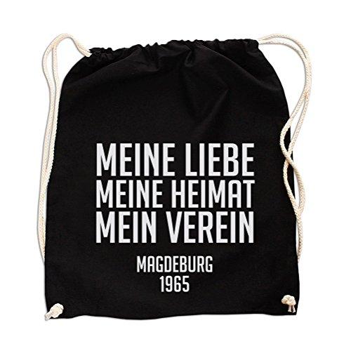 (Meine Liebe meine Heimat Gym Bag Black)