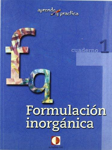 Aprende y practica, formulación química inorgánica