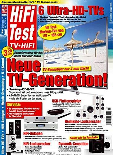 """Hifi Test 3/2019 \""""Neue TV - Generation\"""""""