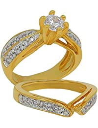 ISADY - Riley Gold - Women's Ring - 750/000 (18 Carat) Gold - Cubic Zirconia