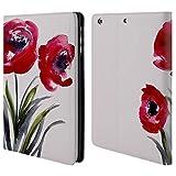 Head Case Designs Offizielle Mai Autumn Mohnblumen Bluete Blumig Brieftasche Handyhülle aus Leder für iPad Mini 1 / Mini 2 / Mini 3