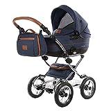 Knorr-Baby Kombi-Kinderwagen Classic Premium blau