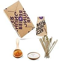 Reishunger Erdnuss Satay Box - Original Zutaten bester Qualität - Für bis zu 4 Personen - Ideal als Geschenk