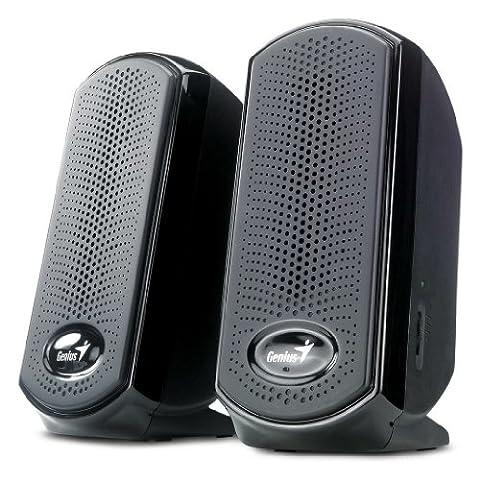 Genius - Haut-parleurs 2.0 SP-U10010 1 Watt RMS
