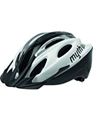 Polisport City Helm, Größe M, 52–56, Weiß und Silber