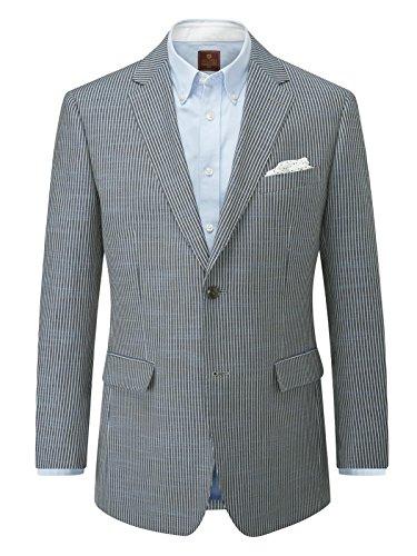 Skopes palgrave Blue/Grey Stripe Blazer Jacket 50