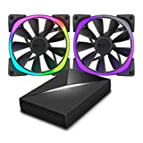 NZXT AER Fans (RGB120 & HUE+) immagine