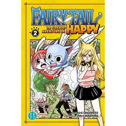 Fairy Tail - La grande aventure de Happy T02