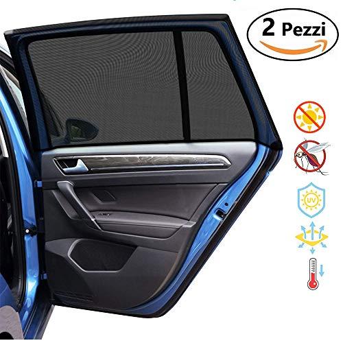 Tende Parasole Avvolgibili Per Auto.Accessori Per Auto Parasole Coppia Tendine Parasole Auto Rullo