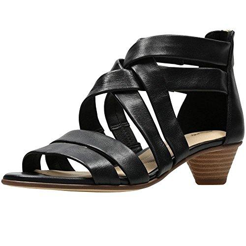 Clarks Mena Silk - Black Leather