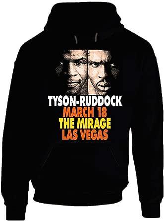 Mike Tyson Vs Ruddock Retro Boxing Hoodie.