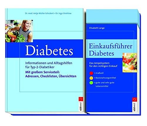 Diabetes-Set: Ratgeber und Einkaufsführer. par Inga Strehlow