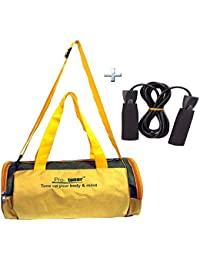 Combo Protoner Gym Bag Aussy Colors Plain With Rope