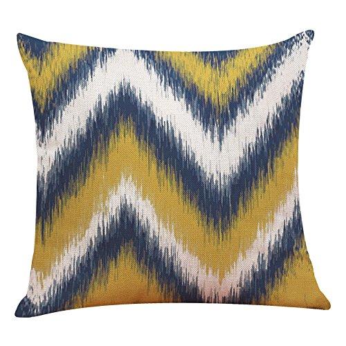 Kissenbezug,Geometrische Muster Dekorativ Kissenbezug Baumwoll und Leinen Werfen Sie Kissenbezüge ,für Zuhause Sofa,Schlafzimmer Dekoration,45x45 cm,1 Stück (G) -