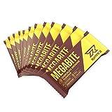 Runtime Megabite Protein-Riegel, Eiweiß-Riegel mit BCAA-s, Kollagen und Isomaltulose, Fitness-Riegel, Power-bar Nutrition Chocolate-Brownie Geschmack 12 x 60 g