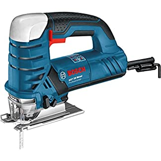 Bosch Professional GST 25 Metal – Sierra de calar (670 W, 500 – 2600 cpm, corte en acero 15 mm, en maletín)