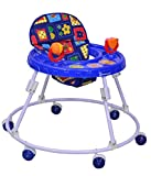 Mothertouch Round Walker with Toy (Blue)