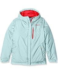 Columbia Alpine Free Fall–Chaqueta de esquí para niña, niña, Alpine Free Fall, Blanco
