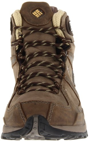Columbia Yama Mid Leath, Chaussures montantes femme Marron (Truffle/Cane/211)