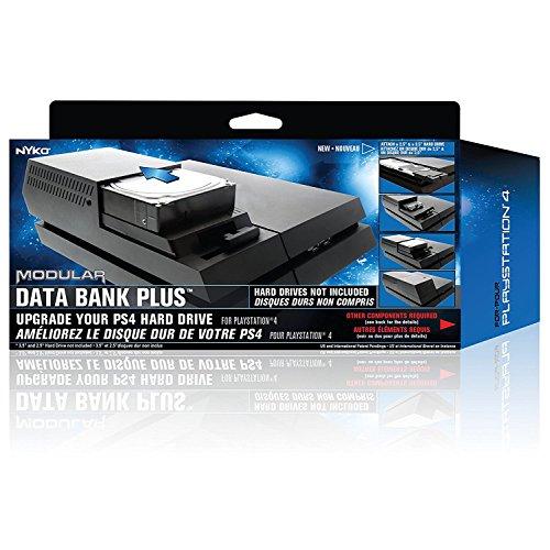 Nyko Data Bank Plus pour PS4 - Boîtier d'extension de disque dur