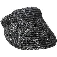 San Diego Hat Company Women s 4-Inch Brim Wheat Straw Visor fc3d644278dd