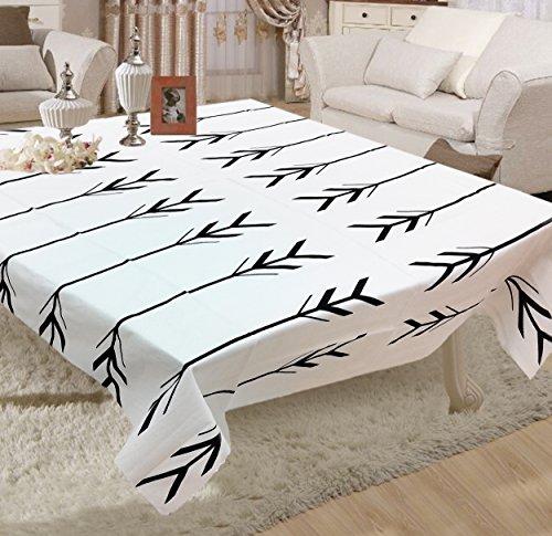 Miyanbazaz Textiles 100% Cotton Black Arrow Stock Design Square Tablecloth /Table Cover...