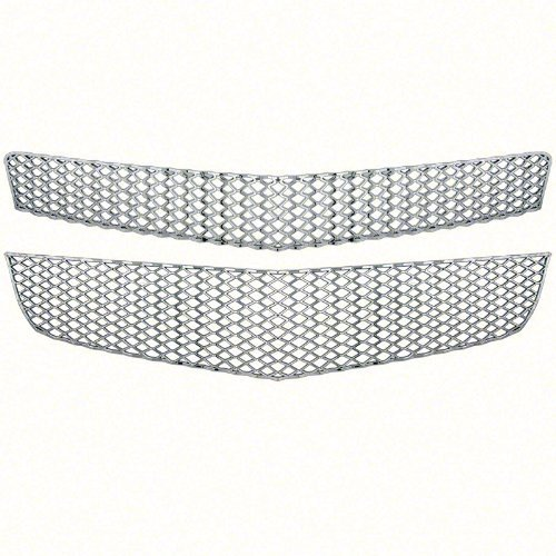 new-chrome-grille-cover-insert-overlay-fits-chevy-traverse-ls-lt-2009-2012-gi-75-by-iwc