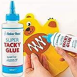 Baker Ross Colle extra forte multi-emploi (Une bouteille) - Matériel de loisirs créatifs pour enfants