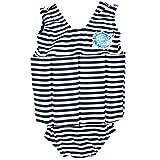 Splash About Kids' Float Suit - Navy Stripe, 1 - 2 Years