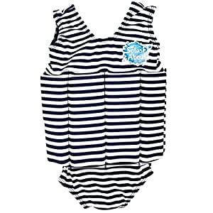 Splash About Kids Float Suit with Adjustable Buoyancy - Navy/White Stripe, 1-2 Years