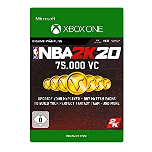 NBA 2K20: 75,000 VC- Xbox One – Download Code