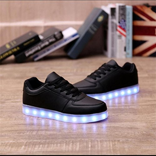 DoGeek Adulto Unisex Scarpe LED Luminosi Sneakers con Le Luci Accendono Scarpe Sportive nero2 Compra El Envío Libre Edición Limitada En Línea Expreso Rápido Con Precios Más Bajos Paypal lA40El8