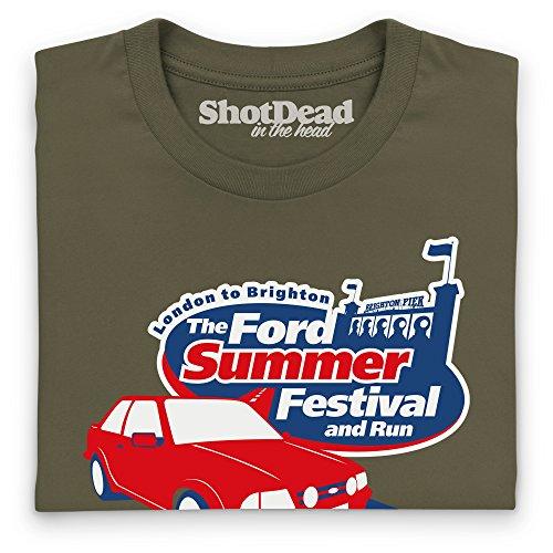 The Ford Summer Festival T-Shirt, Herren Olivgrn