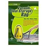 Home Zone 4 Pack Confezioni di sacchi grandi salva spazio sottovuoto – Novità ( Grandezza sacco: 130 cm X 90 cm)