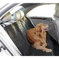 Frostfire Heavy Duty 2-In-1 Rear Seat Protector & Car Boot Liner