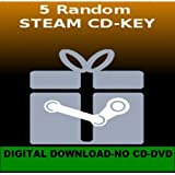 10 Random Steam CD-Key (PC)