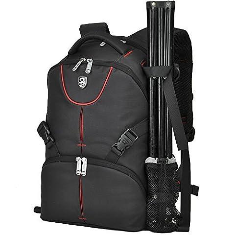 BAIGIO Camera Backpack Photography Rucksack for SLR DSLR Digital Nikon